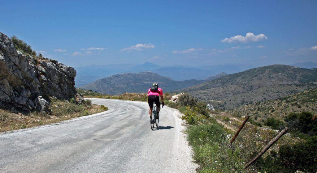 Ποδηλασία στην Ορεινή Κορινθία