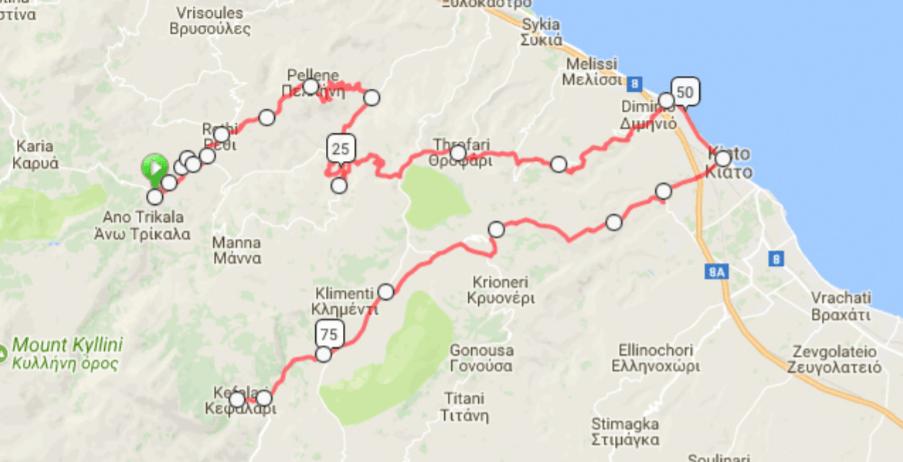 Ποδηλατική διαδρομή Κορινθία 1